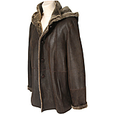 Ladies Lambskin Jacket, Detachable Hood TLAL